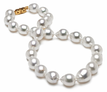 11 x 14mm Baroque South Sea Pearl Necklace