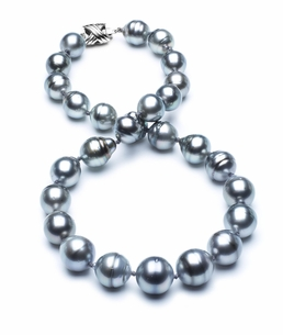 11mm-13mm-tahitian-pearl-necklace-baroque-south-sea-aa-16inch-s3-cliabc-Grey Color-b22