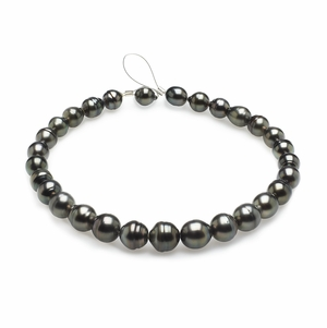 11mm x 13mm Tahitian Baroque Cultured Pearl Necklace TRUE AAA