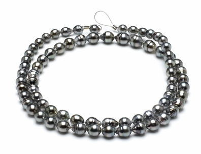 8mm-10mm-tahitian-pearl-necklace-baroque-south-sea-aaa-32inch-s5-clabc52-grey-color-b245