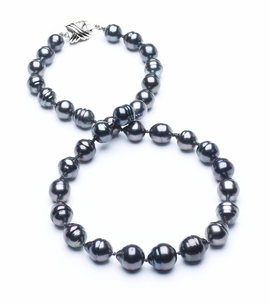 8mm-10mm-tahitian-pearl-necklace-baroque-south-sea-true-aaa-16inch-s3-cliabc-Dark Black-b3