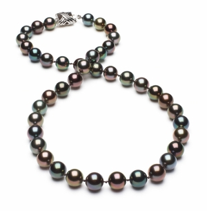 Tahitian Pearl Necklace Serial Number   8mm8-8mm-tahitian-south-sea-multi-color-pearl-necklace-aaa-16inch-s4-xa01342m-b46