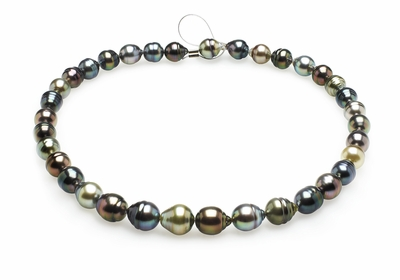 9mm-11mm-tahitian-pearl-necklace-baroque-south-sea-true-aaa-16inch-s5-clabc13-multi-color-b231