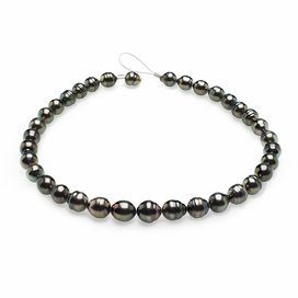 9mm-11mm-tahitian-pearl-necklace-baroque-south-sea-true-aaa-16inch-s5-clabc17-peacock-color-b264