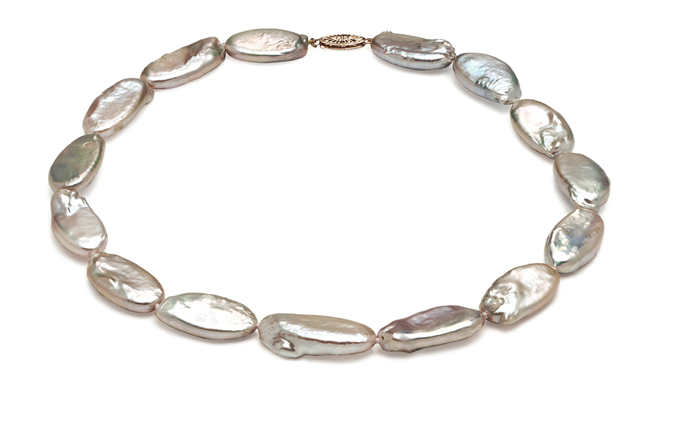 AAA  13 x 21mm Pearl Necklace