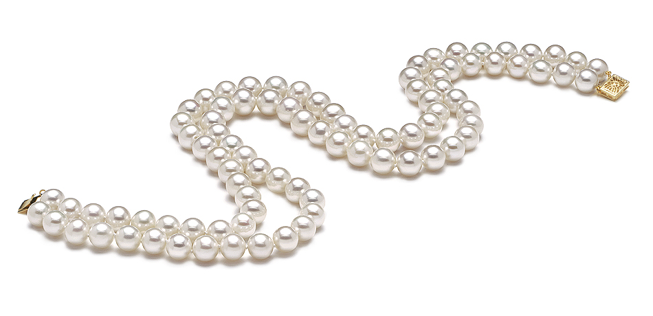 AAA  8.5mm x 9mm Freshwater Pearl Necklace