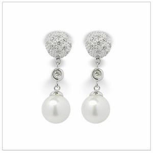 Beyonce a Japanese Akoya Cultured Pearl Earring