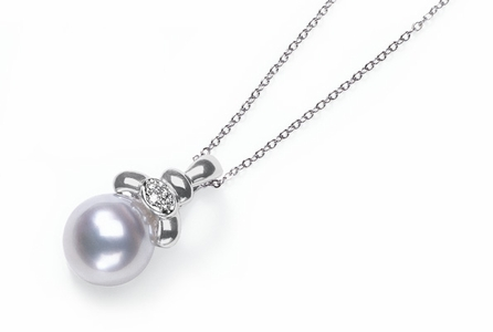 Charon a White Australian White South Sea Cultured Pearl Pendant