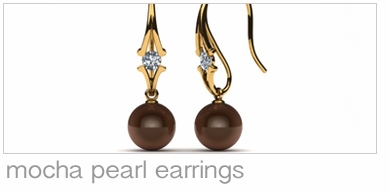 Mocha Pearl Earrings