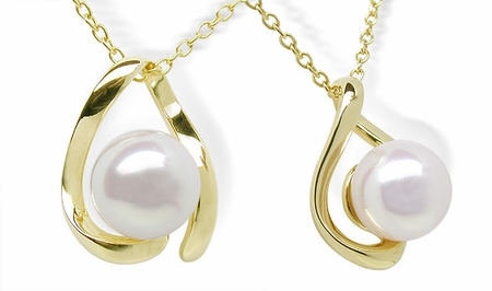 Destiny a Japanese Akoya Cultured Pearl Pendant