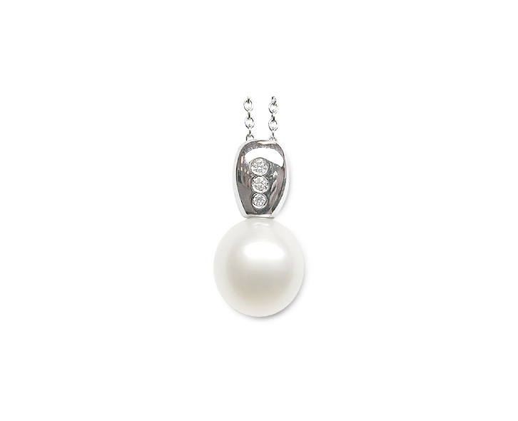Edda a White South Sea Cultured Pearl Pendant