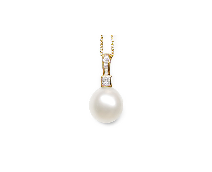 Epona a White South Sea Cultured Pearl Pendant