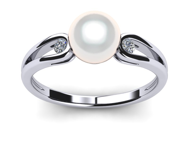 Genteel South Sea Pearl Ring
