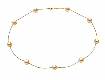 golden-pearl-8mm-pearl-necklace