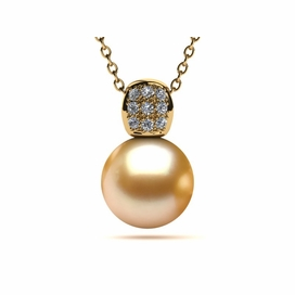 Golden South Sea Pearl Bina Pendant