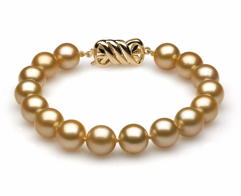 Golden South Sea Pearl Bracelets
