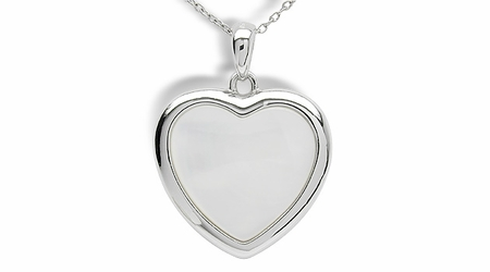 Heart a Mother of Pearl Pendant
