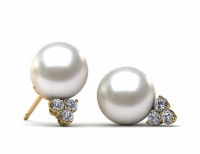 Japanese Akoya Princess Earring