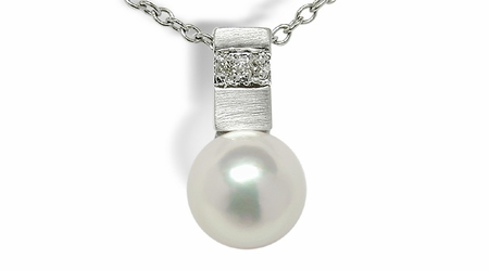 Mercury a Japanese Akoya Cultured Pearl Pendant