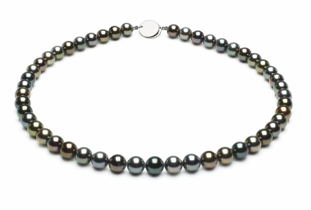 No 8-1mmto9-2mm-tahitian-south-sea-multi-color-pearl-necklace-aaa-16inch-s5-xr06476m-b95