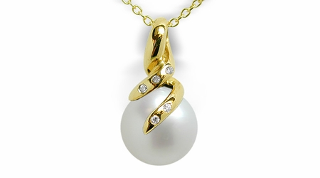 Orabella a Australian South sea Cultured Pearl pendant