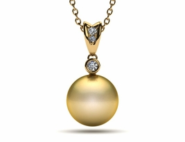pearl-pendant-golden-pearl-single-style