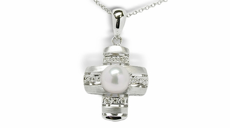 Shine a Japanese Akoya Cultured Pearl Pendant