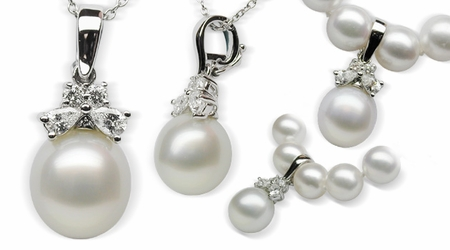 Siona a White South Sea Pearl Pendant