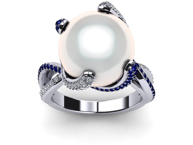 South Sea Octopus Ring