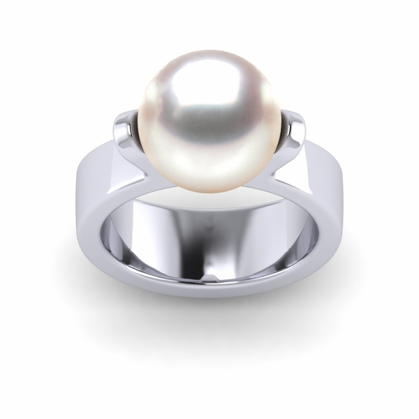 South Sea Pearl Davis Ring