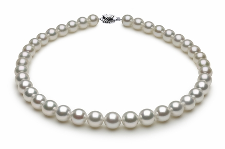 South Sea Pearl Necklace Serial Number | white-south-sea-round-pearl-necklace-11-9mmto10-1mm-aaa-16inch-s8-dr10555w-b20