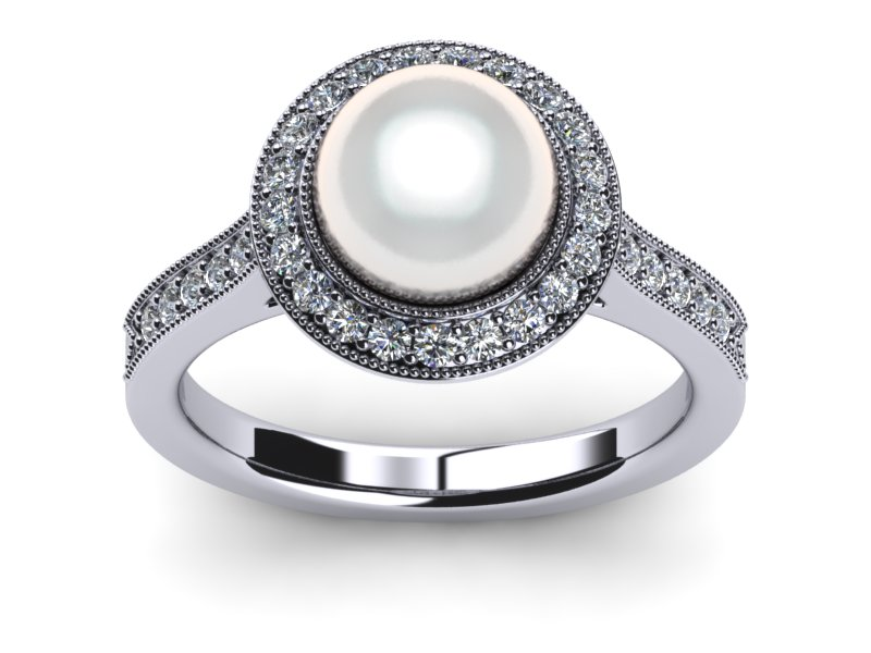 South Sea Pearl Ring Legendary Style