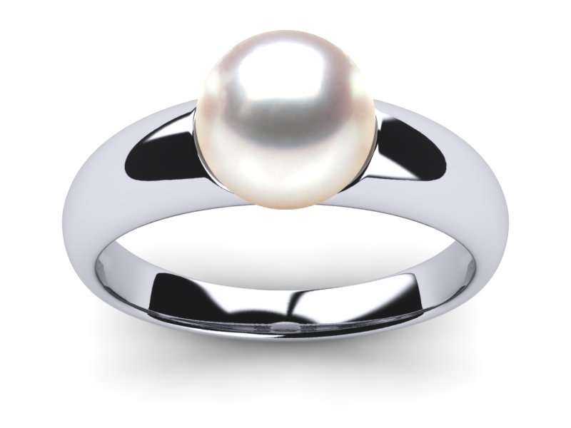 South Sea Pearl Tres Jolie Ring
