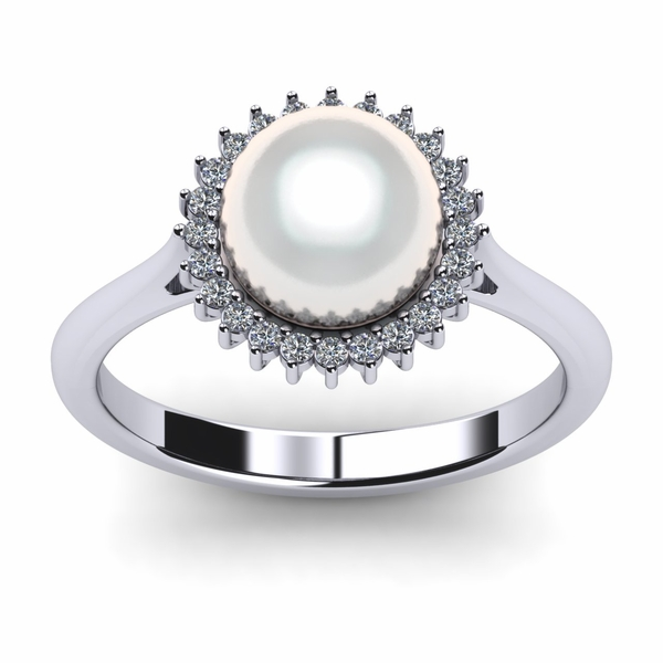 Sunflower South Sea Pearl Ring