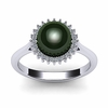 Sunflower Tahitian Pearl Ring