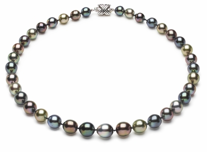 Tahitian Pearl Necklace Serial Number   8mm10mm-pearl-necklace-true-aaa-16inch-s6-sbshbc-tahitian-multi-color-b41