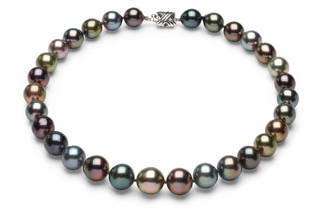 Tahitian Multicolor South Sea Pearl Necklaces