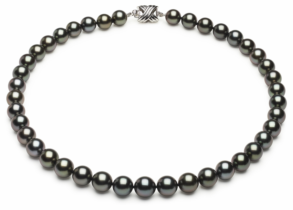 Tahitian Necklace Serial Number   8mm9-8mm-tahitian-south-sea-pearl-necklace-true-aaa-16inch-s6-xb02062-b64