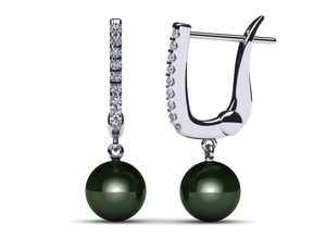 tahitian-pearl-earring-diamond-hinged-clip-back-black-cultured-pearl-south-sea