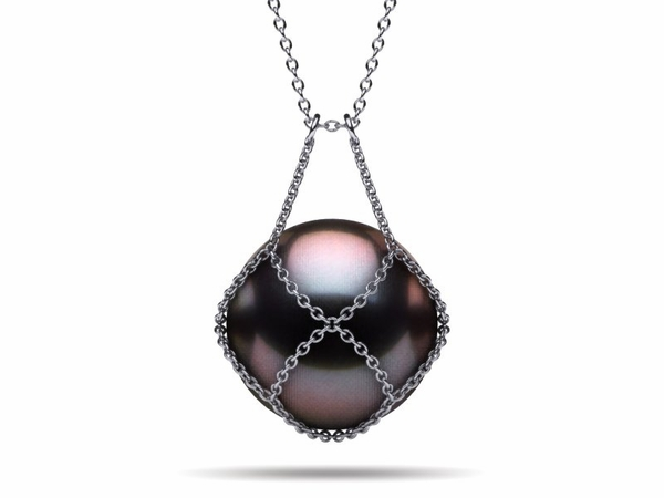 Tahitian Pearl Keepsake Necklace