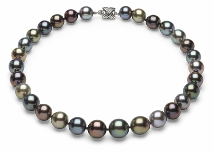 Tahitian Pearl Necklace Serial Number   11mm13mm-pearl-necklace-true-aaa-16inch-s6-sbshbc-tahitian-multi-color-b48