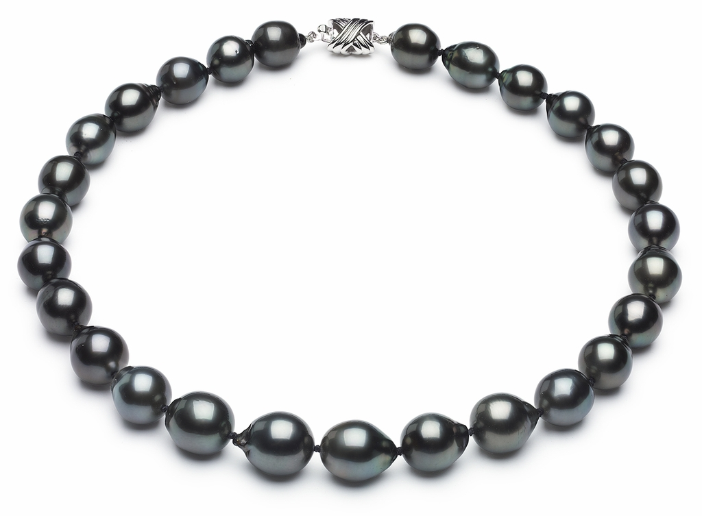 Tahitian Pearl Necklace Serial Number   11mm13mm-tahitian-south-sea-pearl-necklace-true-aaa-16inch-s6-sblgbc-b56