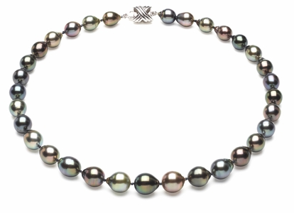 Tahitian Pearl Necklace Serial Number   8mm10mm-pearl-necklace-true-aaa-16inch-s6-sblgbc-tahitian-multi-color-b38