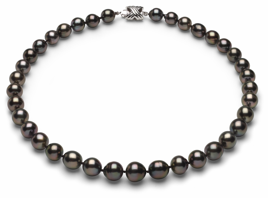 Tahitian Pearl Necklace Serial Number   8mm10mm-tahitian-south-sea-pearl-necklace-true-aaa-16inch-s6-sbshbc-b37
