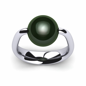 Tahitian Pearl Ring Moon