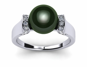 Tahitian Pearl Tension Ring