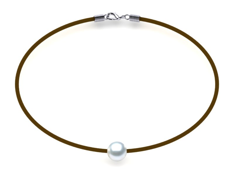White Pearl Necklace St. Barts