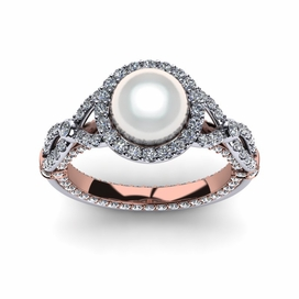 White South Sea Pearl Serendipity Ring