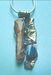 Smoking Coast Amulet IIWithOpal