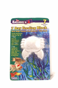 7 Day Fish Feeding Block by Penn Plax